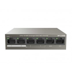 Switch 6 Porte 10/100 Unmanaged con 4 Porte POE