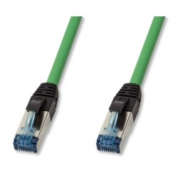 Cavo Patch Cat.6A S/FTP PUR IP20 7,5m Verde
