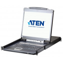 Switch KVM 17'' over IP LCD VGA PS2-USB 16 Porte con USB, CL5716IM