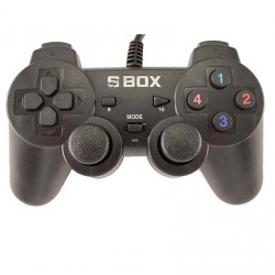 Joypad USB per PC e Playstation 3 in 1 Nero