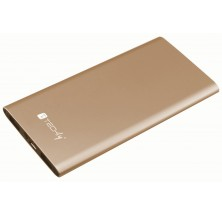 Carica Batterie Power Bank Slim per Smartphone Tablet 5000mAh USB Oro