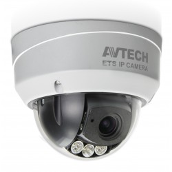 Telecamera Dome IP POE IR Varifocale 2MP da Soffitto IP66 AVM543