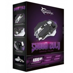 Mouse Gaming USB 4800dpi 7 Tasti Nero Shaka Zulu GM-5001