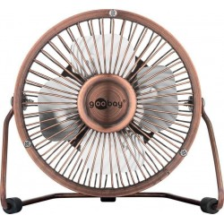 Mini Ventilatore USB 4'' Bronzo