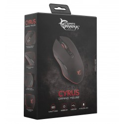 Mouse Gaming USB 3200dpi 6 Tasti Nero Cyrus GM-3001