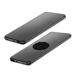 Power Bank 5000 mAh USB con Ventose Nero